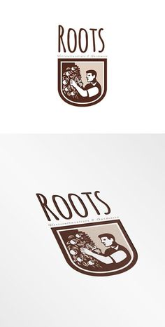 Roots Horticulturists and Gardeners by patrimonio on @creativemarket