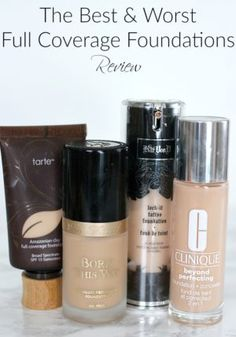 The Best & Worst Full Coverage Foundations Review