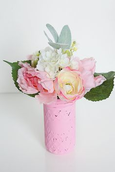 Easy Spring Floral Decor #MichaelsMakers