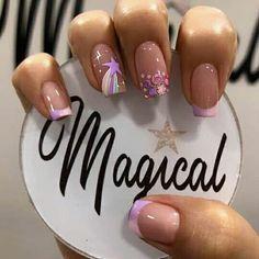 Gel Nails, Acrylic Nails, Nail Art, Nail Games, Winter Nails, Nail Inspo, Nail Designs, Hair Beauty, Fairy
