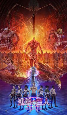 Attack On Titan Game, Attack On Titan Tattoo, Attack On Titan Season 2, Watch Attack On Titan, Attack On Titan Fanart, Touko Pokemon, Seasons Posters, Super Anime, Attack On Titan Aesthetic