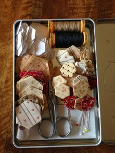 Quilts In The Barn: hexi travel kit