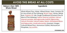 Before You Ever Buy Bread Again…Read This! (And Find The Healthiest Bread On The Market) on http://foodbabe.com