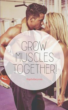 Grow Muscles Together. - Muscle Building #musclebuilding #fitness #muscle