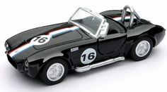 NewRay 1/32 Die-Cast Car: Shelby 1966 Cobra 427 S/C by Newray. $6.35. Pullback Action. Approx. 5 Inches Long. Door Opens. 1:32 Scxale, Approx. 5 Inches Long. Painted Black with White Stripe. 1/32 scale die-cast from New Ray. Whether you are just starting a collection or adding to an existing one, New Ray models are perfect for your collection. The attention to detail and scale realism in these affordable models is simply spectacular. New Ray is dedicated to creative and high qua...