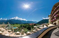 Panoramablick Wellnessresidenz Schalber in Serfaus / Tirol auf dem Sonnenplateau Serfaus-Fiss-Ladis.  # serfaus #serfausfissladis #schalber #hotelschalber
