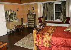 Melinda and Jim's bedroom
