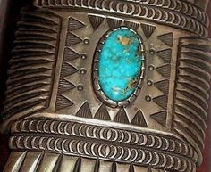 Award winning Ketoh by Wilson Jim. Documentation included (pictured) Sterling, leather, Avalon Turquoise. Award ribbon at the 1987 Inter-Tribal Indian Ceremonial in Gallup, New Mexico. Includes old exhibition ticket with price of 1200, ribbon and brochure.   eBay!