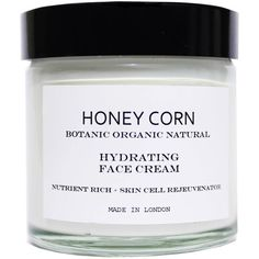 Honey Corn - Hydrating Face Cream - Night Cream (€31) ❤ liked on Polyvore featuring beauty products, skincare, face care, face moisturizers, beauty, fillers, makeup, decor, anti aging face moisturizer and face moisturizer