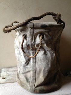 vintage tool bag...