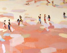 "Saatchi Art Artist Elizabeth Lennie; Limited Edition Print, ""Beachlife 20"" #art"