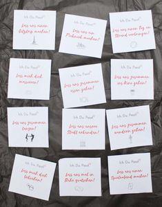 thoughtful gifts DIY Date-Kalender als Gesc - Boyfriend Gift Diy, Gifts For Boyfriend Long Distance, Presents For Boyfriend, Thoughtful Gifts For Him, Romantic Gifts For Him, Diy Gifts, Best Gifts, Saint Valentin Diy, Bday Gifts For Him