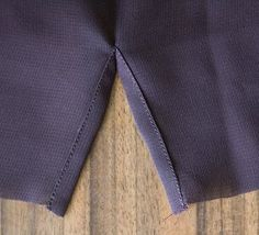 ~tricks of the trade: continuous bound sleeve placket~