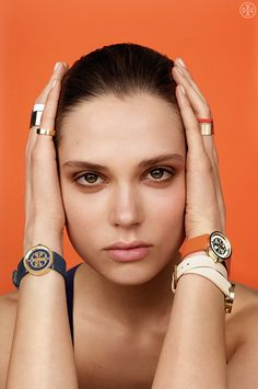 Tory Burch Watches — classic, graphic and in a range of bold colors