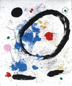 Joan Miro, lithography 1964