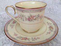 Noritake Tea Cup and Saucer Set Noritake Sestina Vintage Tea