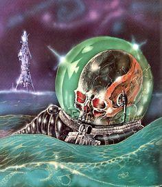 Stream C - Lance - Chamber Of Souls by C-LanceTheMonstah from desktop or your mobile device Fantasy Kunst, Sci Fi Fantasy, Ufo, Sci Fi Kunst, Science Fiction Kunst, Arte Sci Fi, 70s Sci Fi Art, Classic Sci Fi, Arte Horror