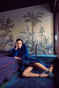 Vogue Portugal January 2018 Alessandra Ambrosio by Branislav Simoncik