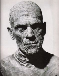 Karloff mummy no wonder I had nitemares, but wouldnt lay off this stuff either...