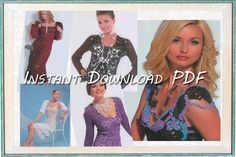 Crochet Patterns. Ebook. Instant Download by YourCreativeCrochet, $3.00