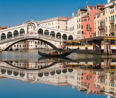 Koop 'Venice Italy' van Brian Morgan voor aan de muur.
