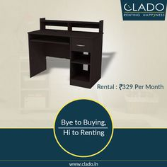 The study table or writing desk is one of the essential ‪‎furnitures‬ of home décor. http://www.clado.in/furniture #furniture #clado #study #kids