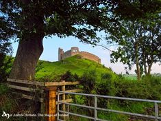 Castle Roche, a Norman castle located north-west of Dundalk, Co.Louth.