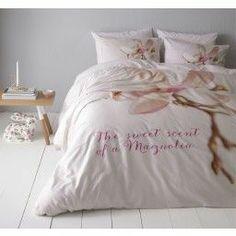 Magnolia pink dekbedovertrek
