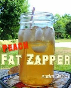Weightloss, Recipes and DIY with Kari: Peach Fat Zapper
