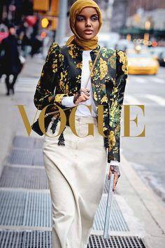 Halima Aden for Vogue Arabia