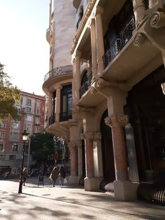 Barcelona Architecture, Mansions, House Styles, City, Building, Home Decor, Decoration Home, Manor Houses, Room Decor