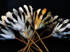 Recycled Artworks - Collaborative Art Proteas Project