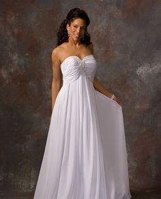 6c4580e284b58 beach casual wedding dresses  CasualChurch  WeddingTheDress Full Figure Wedding  Dress