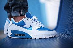 Nike Air Max 90 Hyperfuse 'North Carolina'