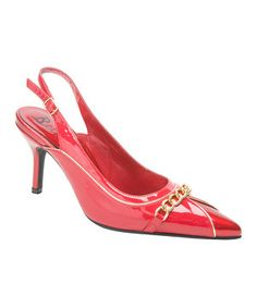 Another great find on #zulily! Red Coppito Slingback by Bellini #zulilyfinds