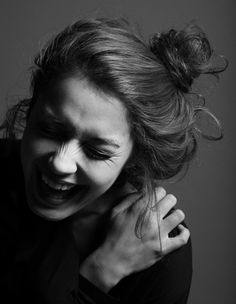 Image result for women laughing sexy pinterest black and white