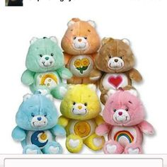 Care Bears...Love these!