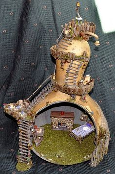 Another lovely gourd house