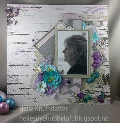 Helle's Nye Hobbyloft: Mine favorittfarger.....