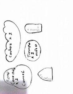 FELTROMARA: RENA CRÉDITOS NAS FOTOS Mary Christmas, Christmas Gingerbread Men, Christmas Ornaments, Doll Patterns, Letters, Diy Crafts, Blog, Taxi, Design