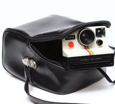 Vintage Case Bag For Polaroid 600 SX-70 OneStep by LePhotographeNY