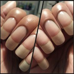 Round Stylish Nails, Trendy Nails, Great Nails, Nice Nails, Nail Growth Tips, Long Natural Nails, Curved Nails, How To Cut Nails, Summer Acrylic Nails