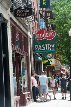 Take a walk around the North End, Boston's oldest neighborhood and the city's Little Italy.