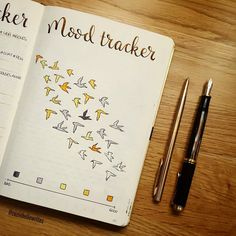 "1,141 Likes, 32 Comments - Leanne (@pagesbyleanne) on Instagram: ""I just haven't really warmed to this mood tracker this month, I definitely preferred last month's…"""