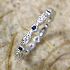 1st promise ring- Chris's birthstone instead of blue