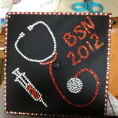 Graduation cap for nursing school ..