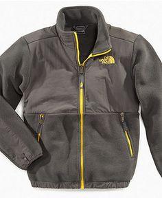 The North Face Kids Jacket, Boys Denali Fleece Jacket - Kids Coats & Cold Weather - Macy's