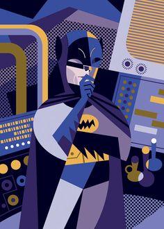 Batman by Pablo Lobato, via Behance