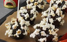 Lyle's® Popcorn Toffee Apples Recipe