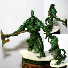 Wargame News and Terrain: SLAP Miniatures: New greens, lupines and minotaurs